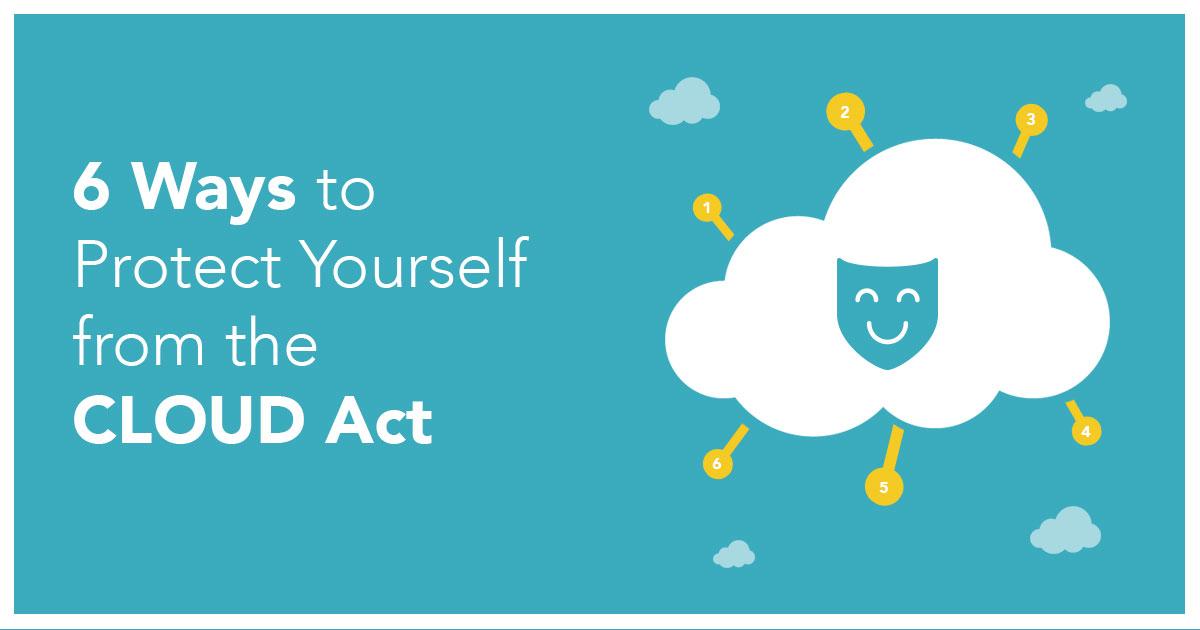 6 sposobów, aby chronić się przed ustawą CLOUD