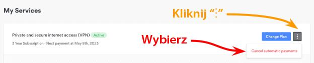 """Kliknij """"⋮"""" Wybierz"""